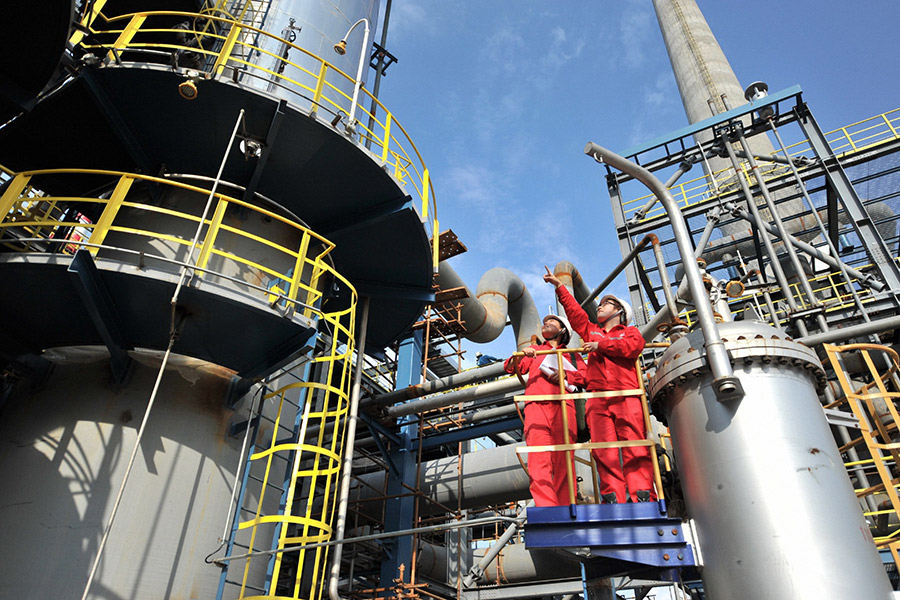 China's oil, petrochemical industry posts revenue growth in 2019