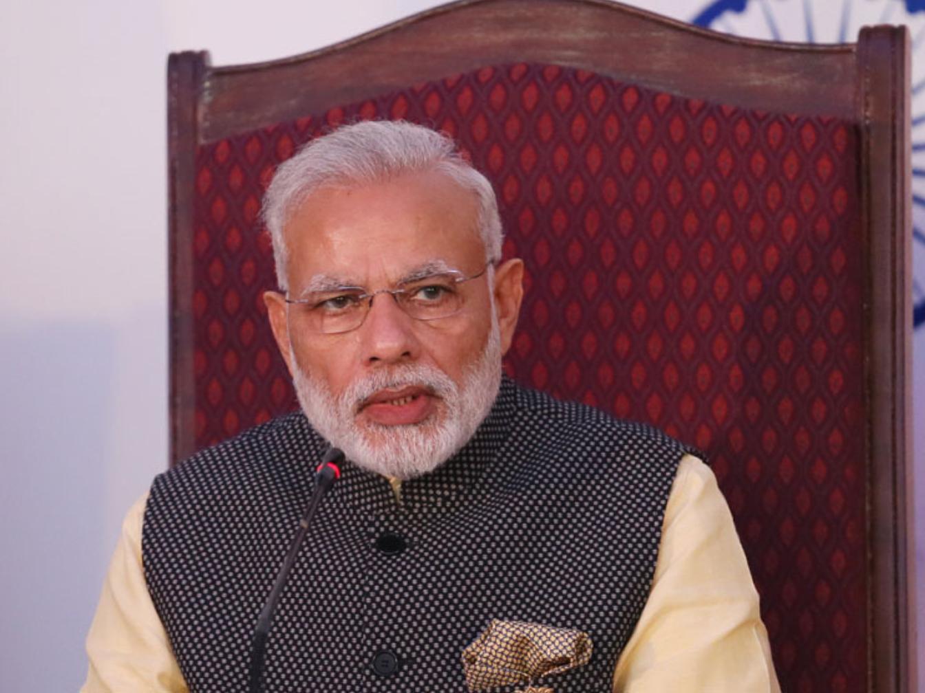 Indian PM Modi salutes Women Power on Int'l Women's Day