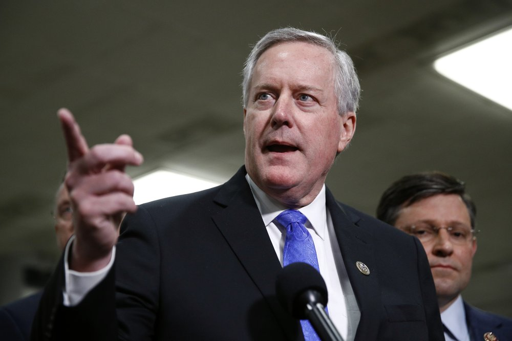 Trump names Rep. Mark Meadows his new chief of staff