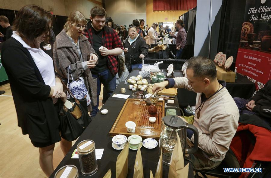 Sixth annual tea festival held in Vancouver