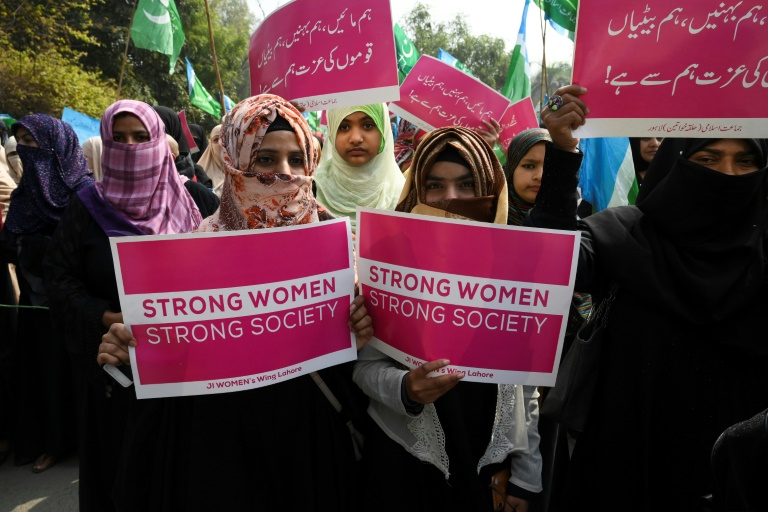 Global rallies for International Women's Day despite virus fears