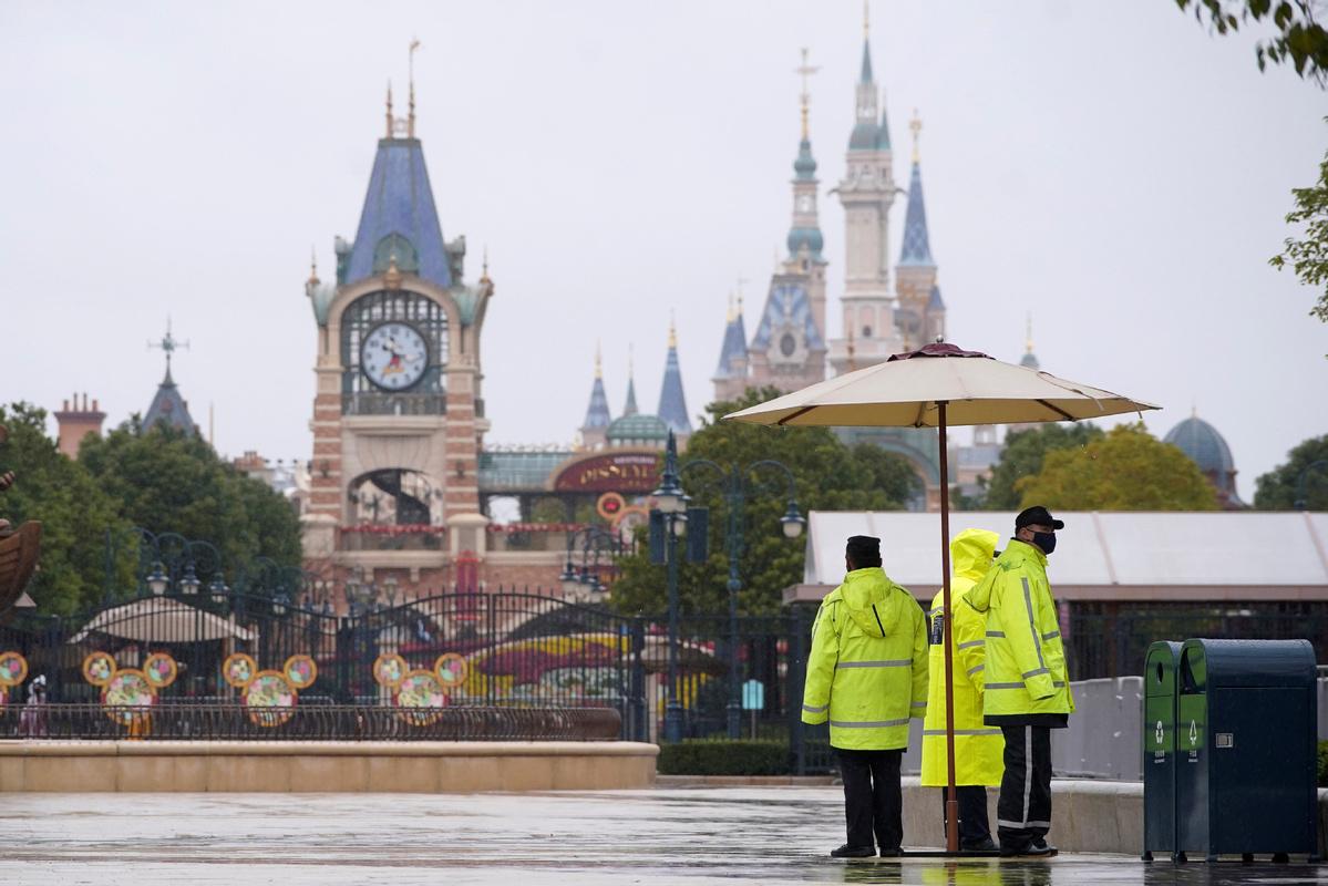 Shanghai Disney Resort announces partial reopening
