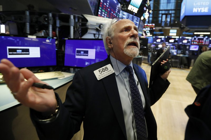 Stocks slide on Wall Street over coronavirus and oil crash