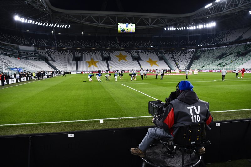 Sporting events in Italy to be halted because of virus