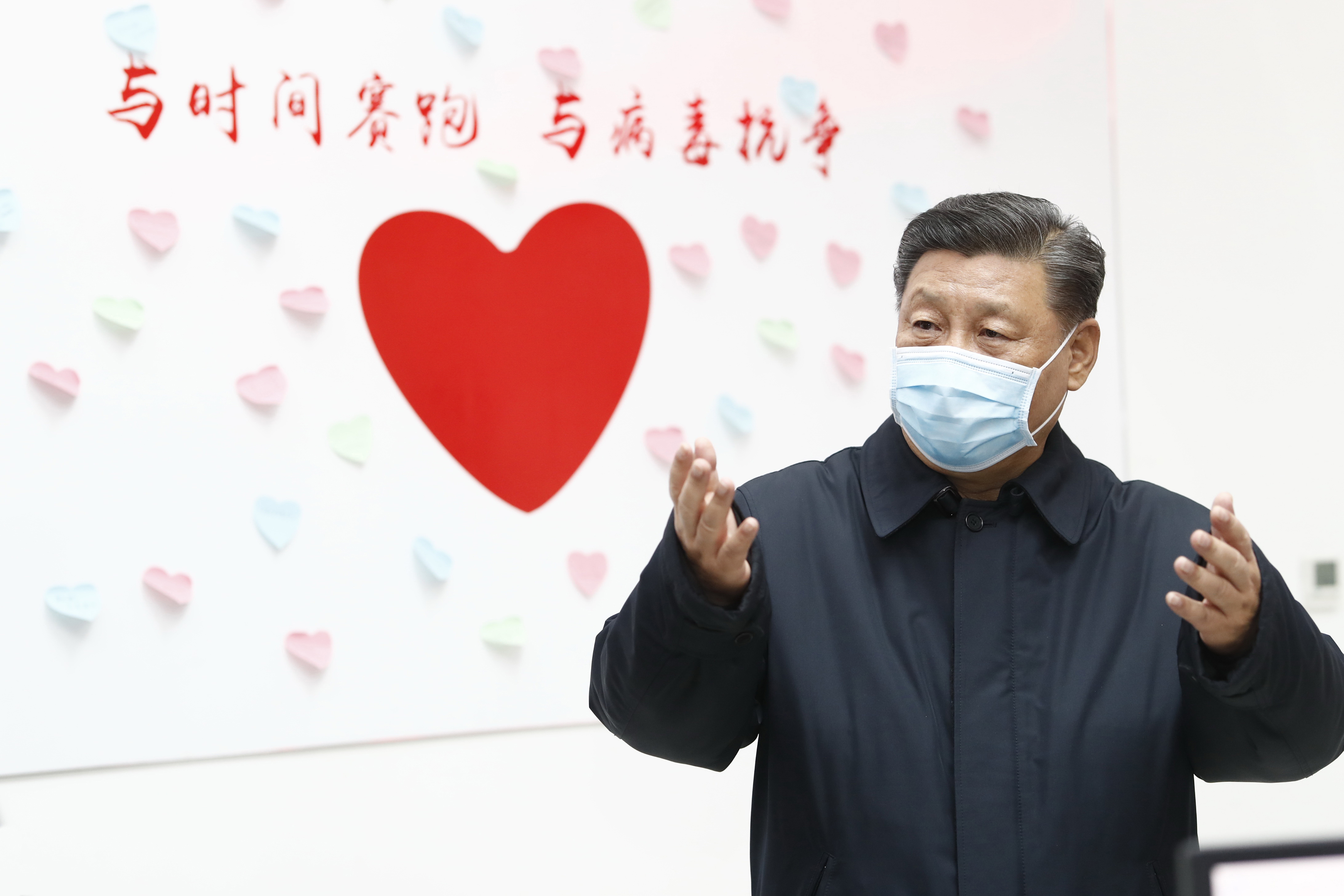 Xi in Wuhan for COVID-19 prevention, control inspection