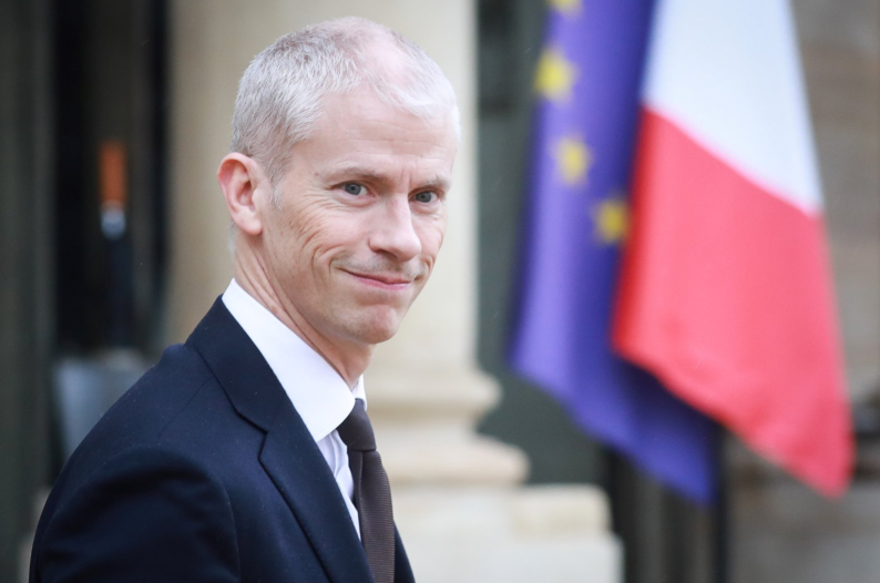 French culture minister tests positive