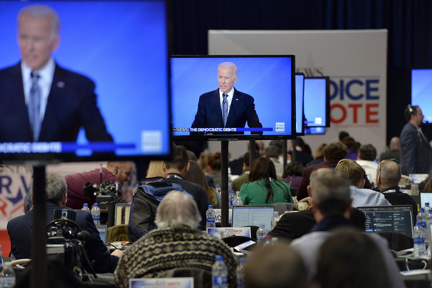 Biden says fighting for US 'soul' after big primary wins