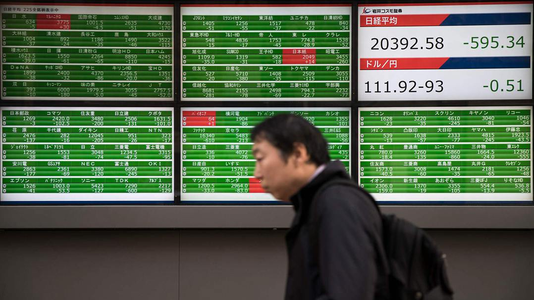 Tokyo stocks close sharply lower amid concerns over US stimulus measures