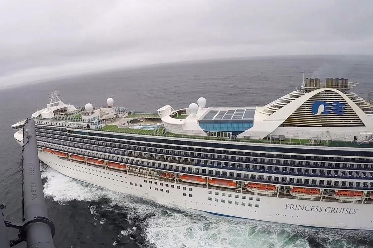 407 passengers disembark Grand Princess at Oakland port