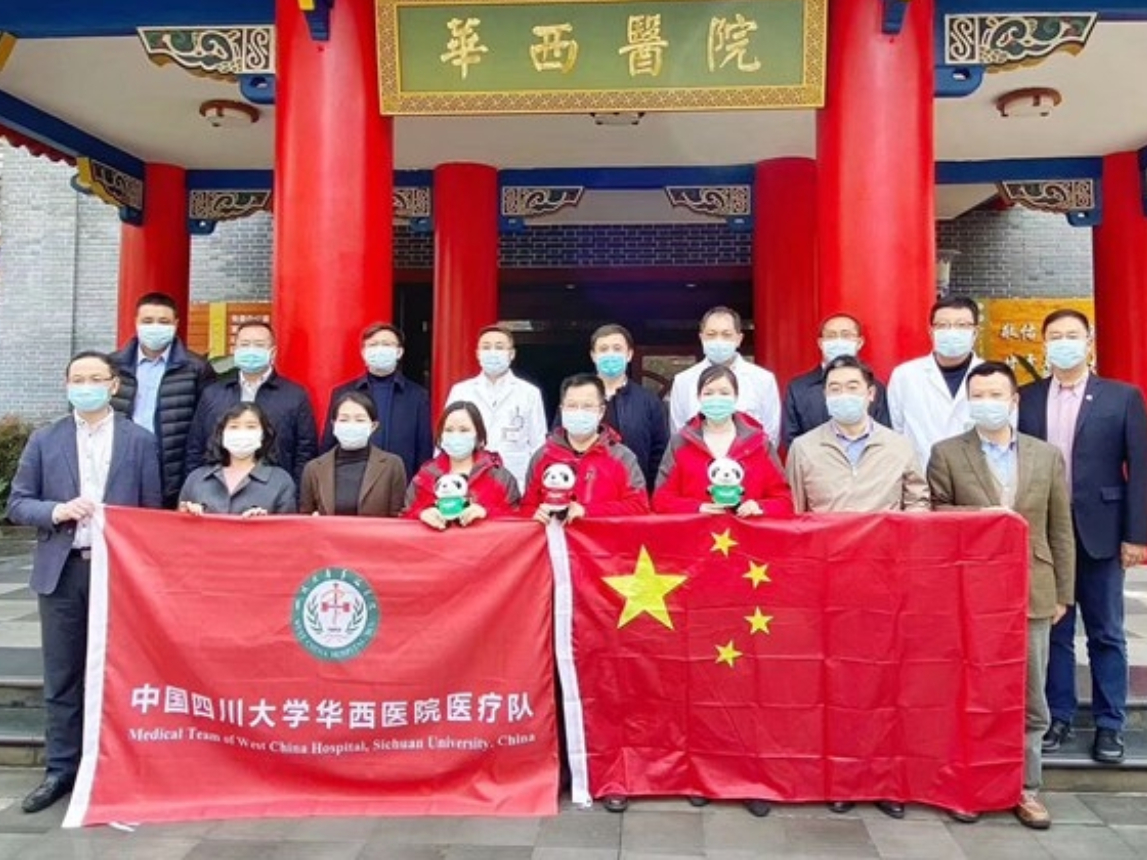 China sends medical volunteers to aid Italy's coronavirus response