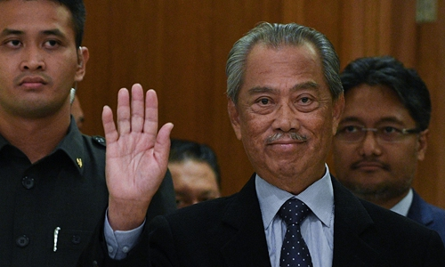 Malaysian PM seeks Mahathir's endorsement of new government