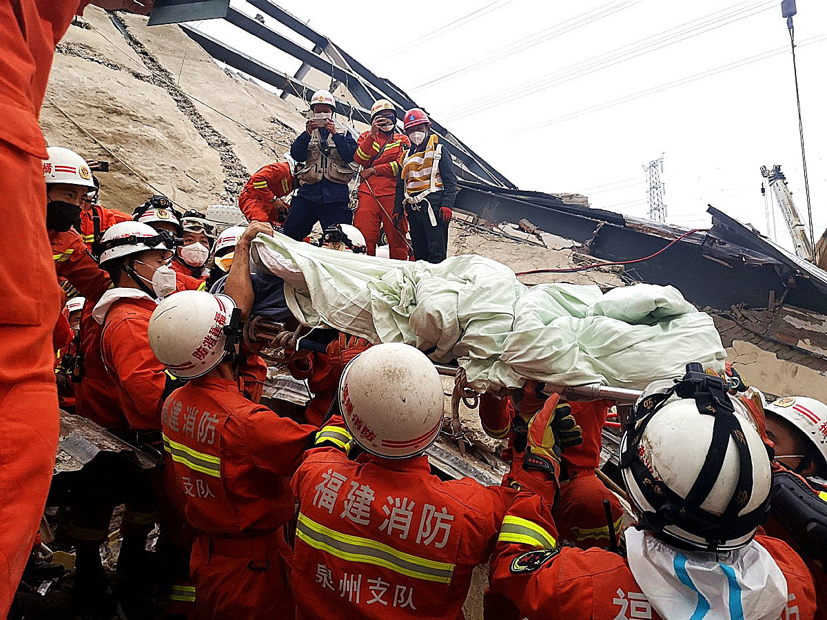 Preliminary investigation into hotel collapse unveiled