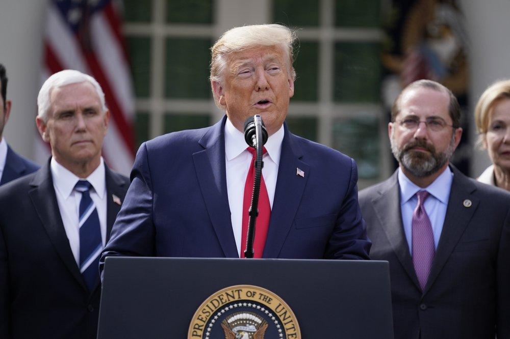 Trump declares national emergency on coronavirus