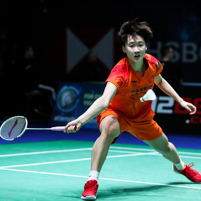 Defending champion Chen Yufei into women's semifinals at All England Open