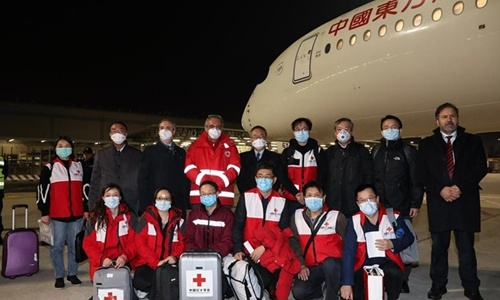 China to assist Chinese nationals in Italy needing help to return home in charter flight