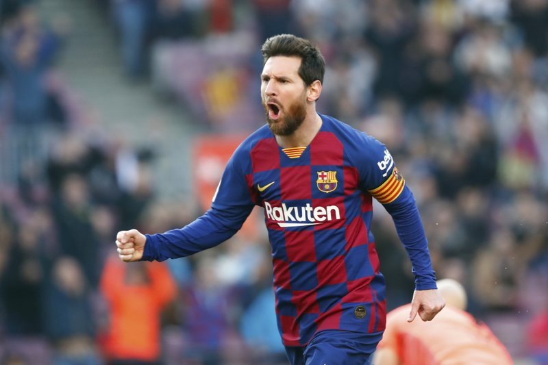 Messi sends 'strength' to those affected by coronavirus
