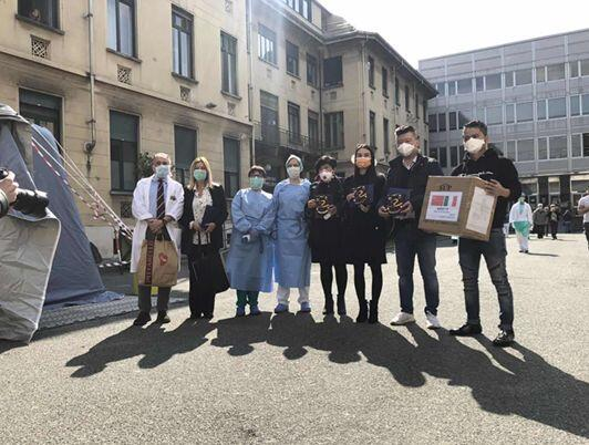 1,663 cartons of epidemic prevention materials from E China arriving in Italy