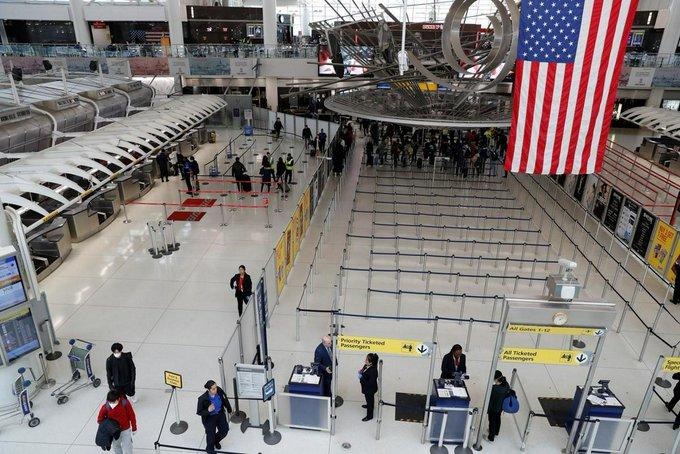 US adds UK, Ireland to European travel ban