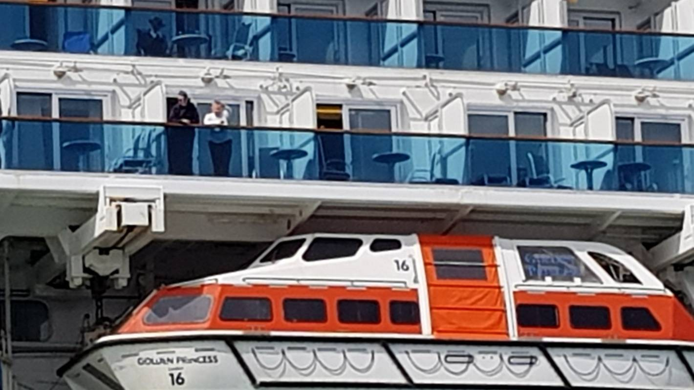 Passengers held on cruise ship in New Zealand over virus fears