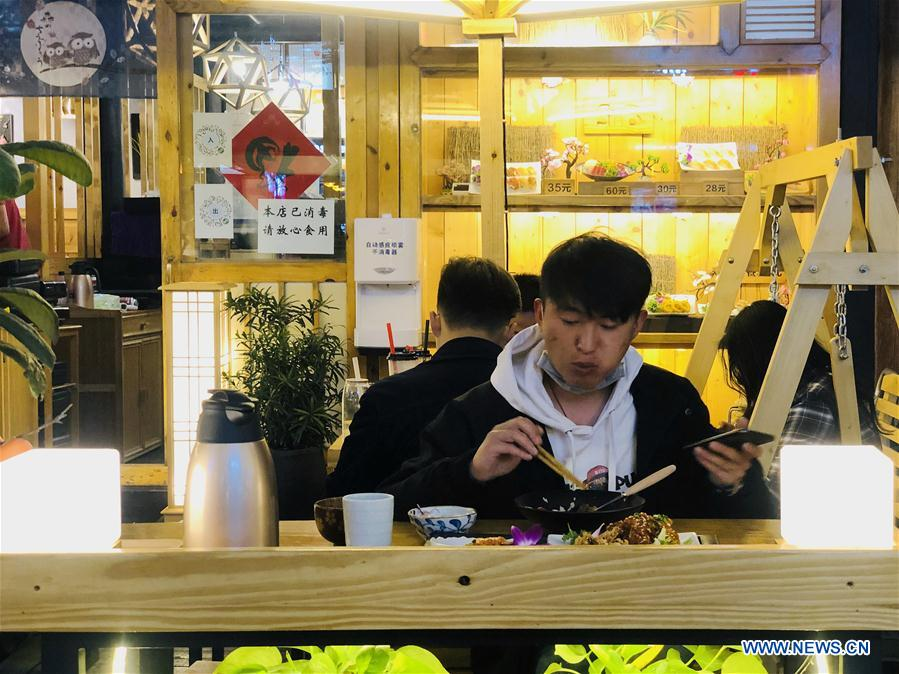 Kunming allows to restore eat-in service at restaurants