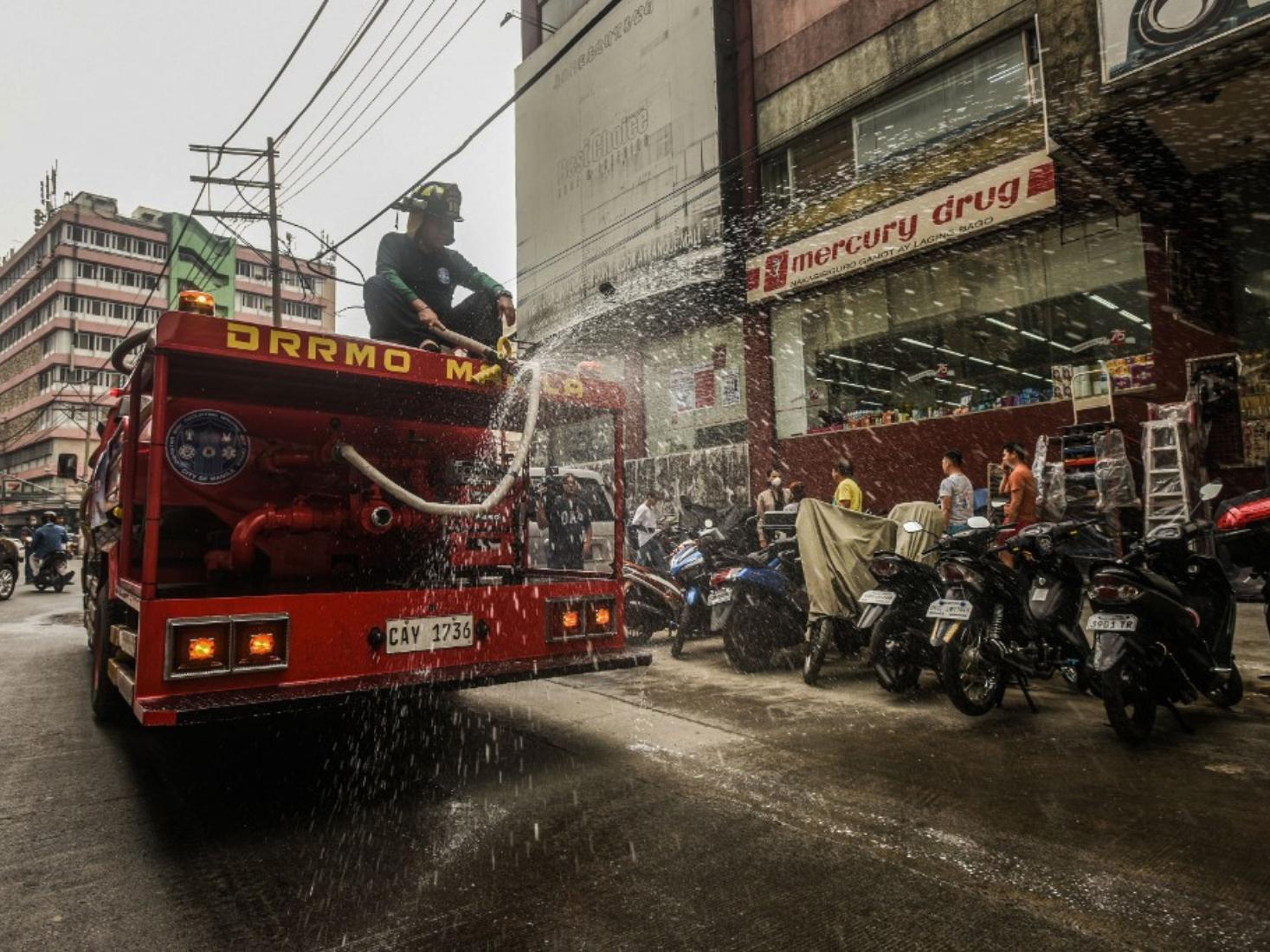 Philippines imposes 'community quarantine' on entire Luzon island