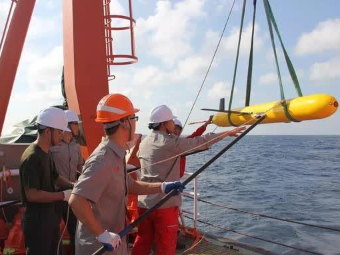 China's underwater gliders complete observation in Indian Ocean