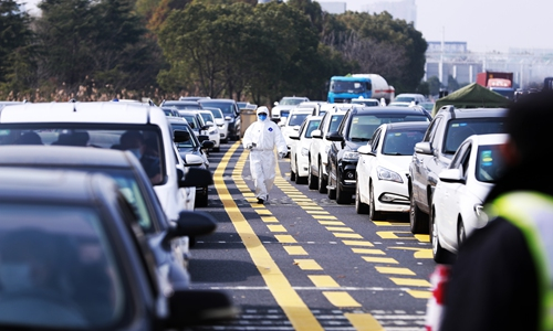 """China restores normal traffic order, clearing """"lifeline"""" for work resumption"""