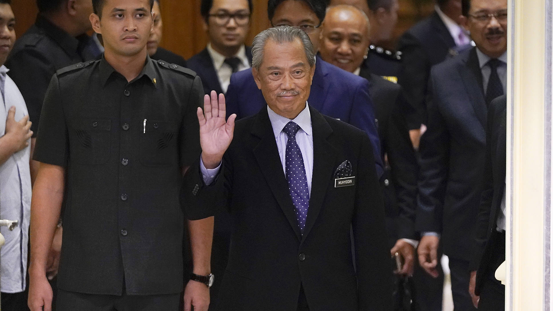 Malaysian PM announces nationwide lockdown