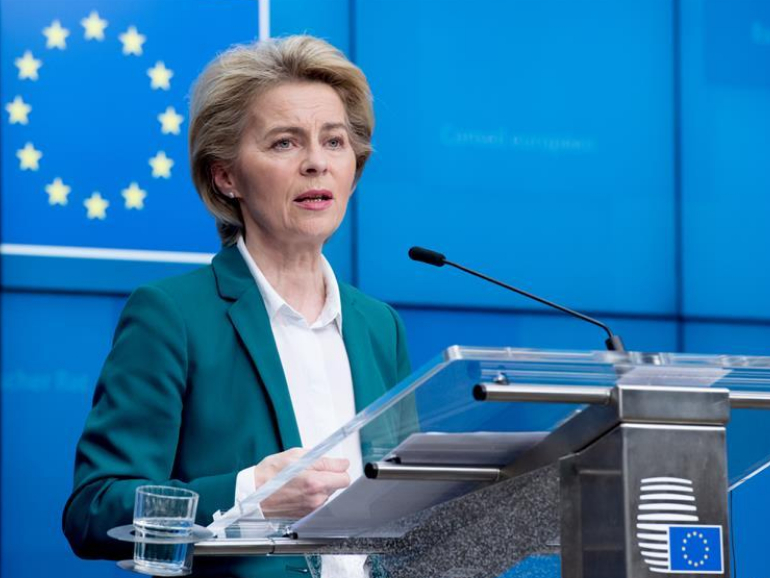 Von der Leyen proposes travel restrictions to EU