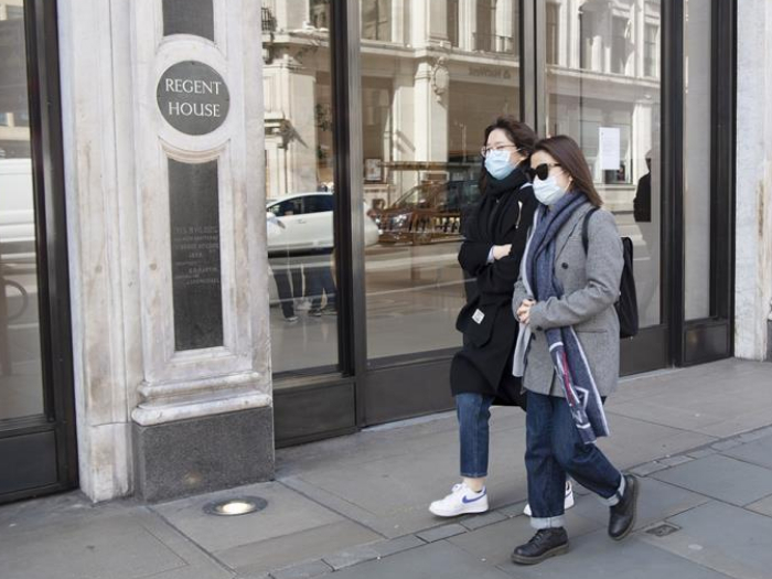 Stores closed to customers due to coronavirus outbreak in London