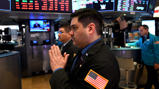 US stocks open higher after Monday's rout, Dow +1.9%