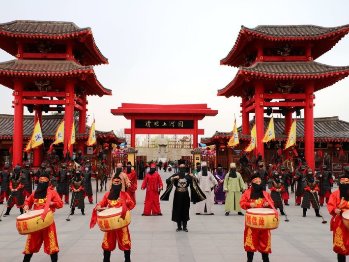 Popular Kaifeng theme park reopens to public