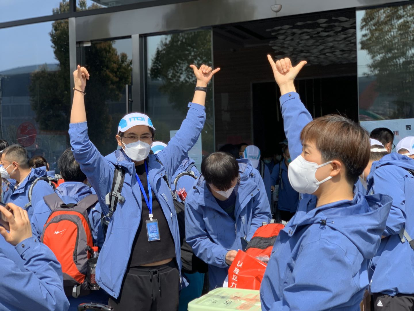 First group of medical assistance teams leaves Hubei Province