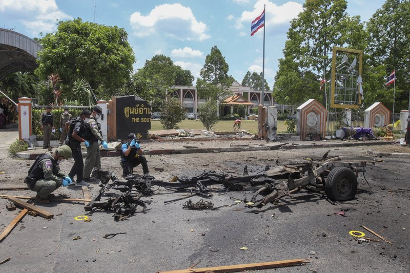 Bombing of government office in southern Thailand injures 20