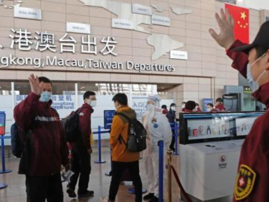 Charter flight carrying Chinese medical experts, supplies heads for Italy