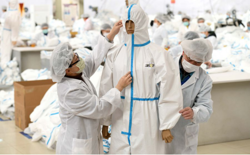 China exports medical supplies to help combat epidemic