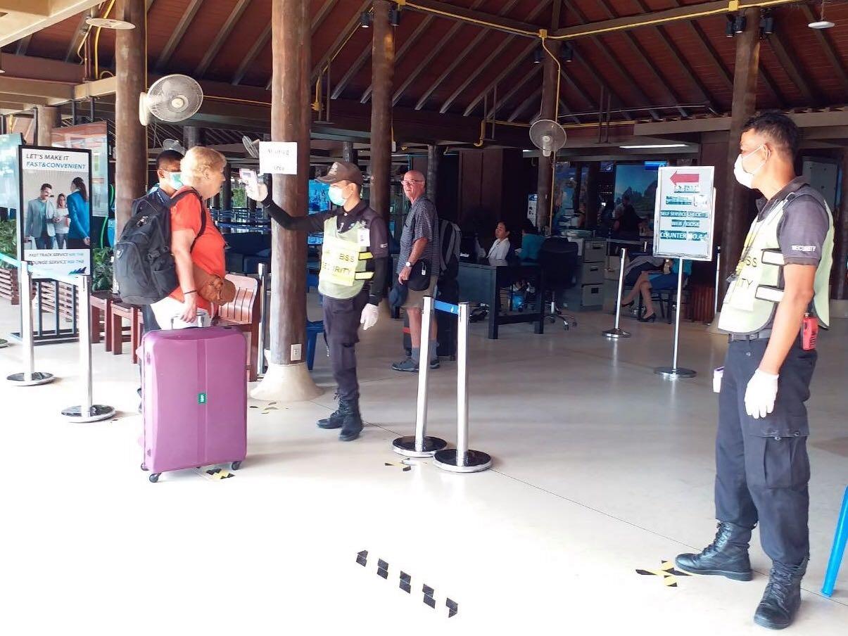 Bangkok Airways adds exit screening points at three airports