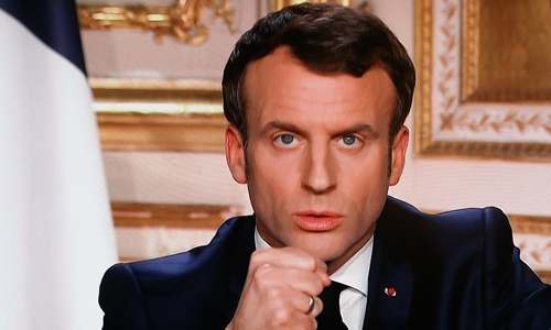 Macron deserves praise in virus fight