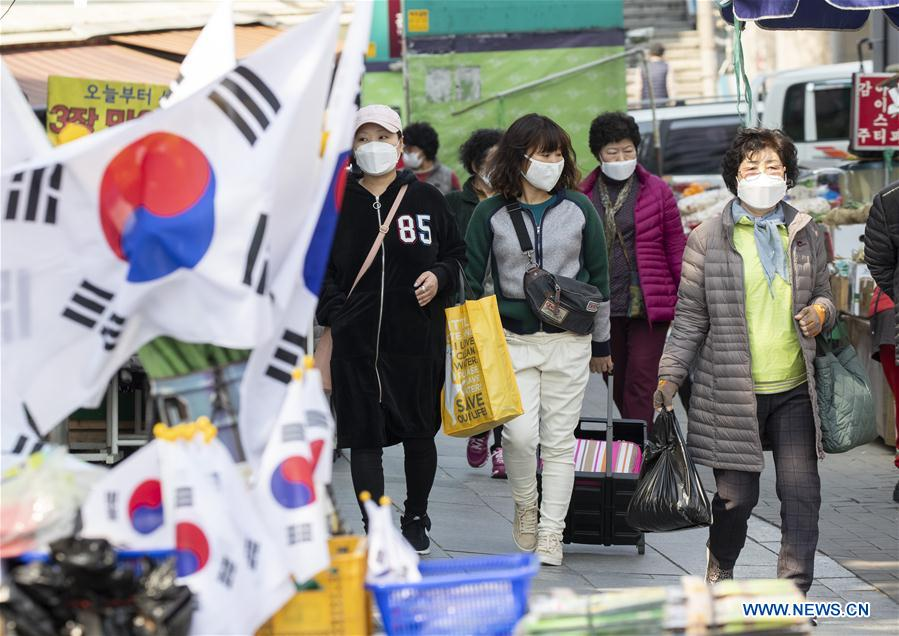 S.Korea reports 93 more COVID-19 cases, 8,413 in total
