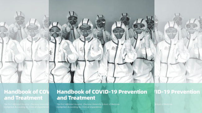 Chinese hospital publish handbook for COVID-19 treatment in multiple languages
