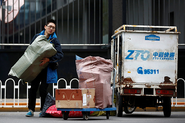 China to accelerate work resumption of courier sector in Hubei