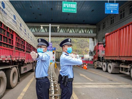 Trade volume of Hekou Port on the China-Vietnam border recovers to pre-epidemic level
