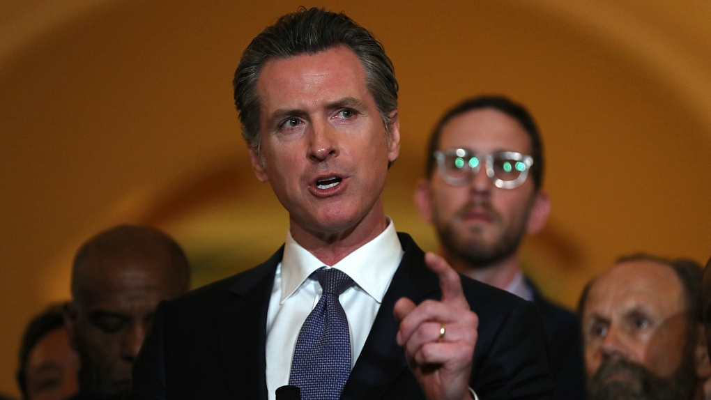 California governor orders entire state to stay at home