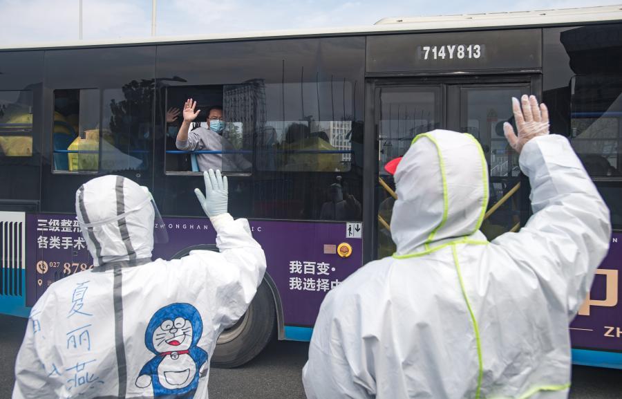 No new coronavirus cases in Wuhan sends encouragement to world