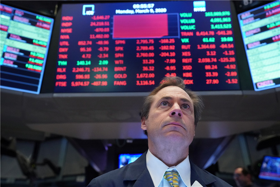 Stock crashes in US, Europe signal end of boom
