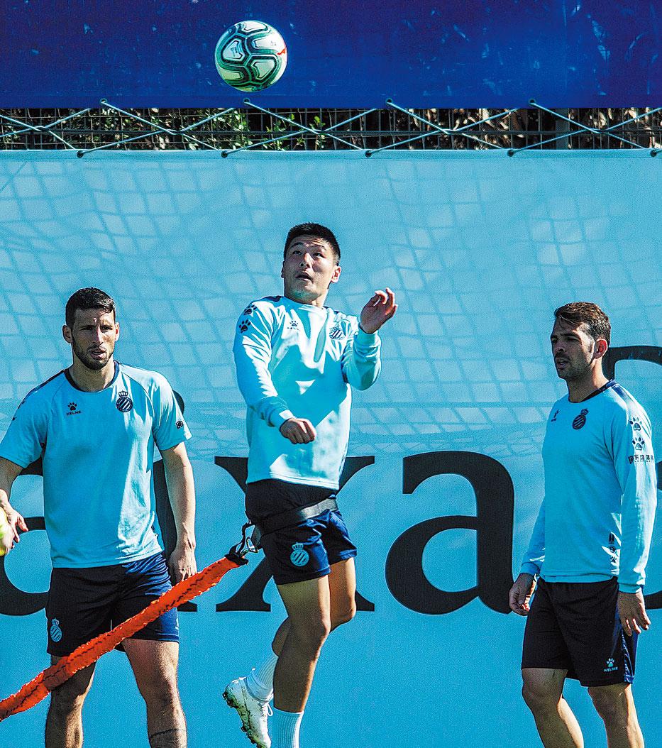 Wu focused on family as Espanyol ace allays fan fears