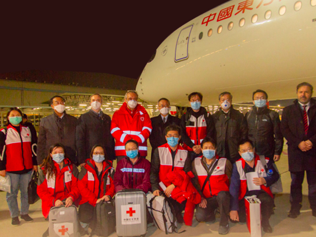 Posters: China repays kindness to countries in need of assistance for COVID-19 fight