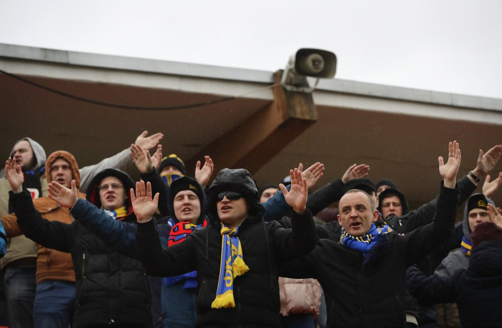 Belarus plays on as world soccer shuts down due to virus