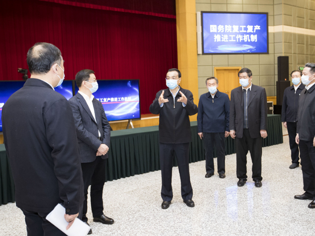 Chinese premier stresses support for market entities