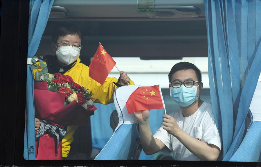 Medics from Guizhou, Guangzhou return as epidemic outbreak subdues in Hubei